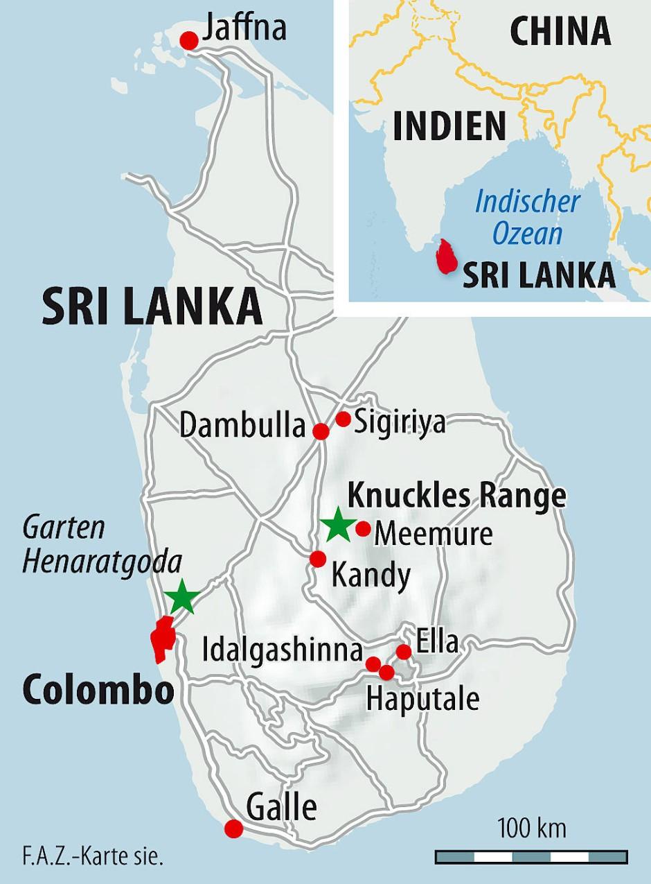 Sri Lanka Karte Zum Drucken.Bilderstrecke Zu Weg Vom Tourismus Sri Lankas Gewürzgärten Bild