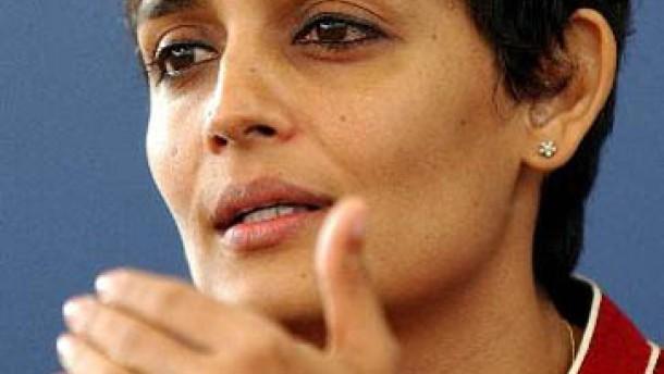 Amerikanische Ehrung für Arundhati Roy