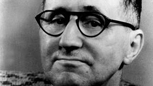 """Bertolt Brecht: """"W B"""""""