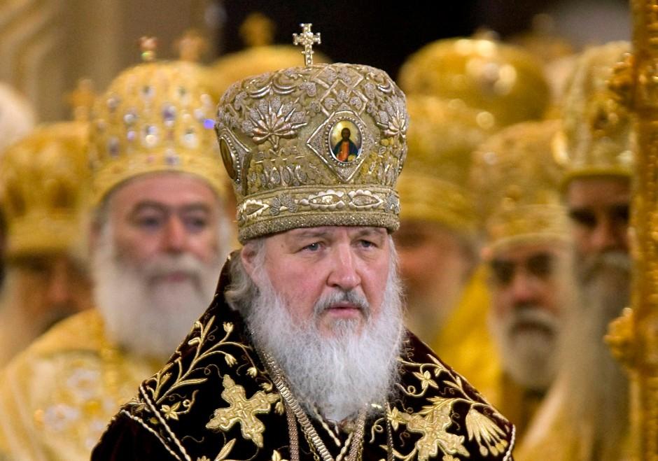 Die Kirchenleitung der orthodoxen Kirche - hier der Patriarch Kyrill - glaubt nur an bedingungslosen Gehorsam