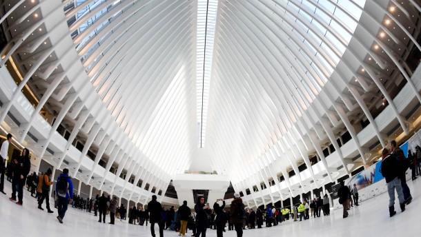 New York eröffnet Calatrava-Bahnhof Oculus
