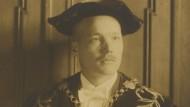 Matthias Gelzer als Rektor im akademischen Jahr 1924/25