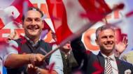 Wird er im Hintergrund bleiben? FPÖ-Kandidat Norbert Hofer