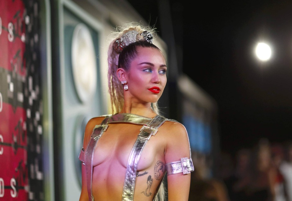 Miley Cyrus bei den MTV Video Music Awards in Los Angeles