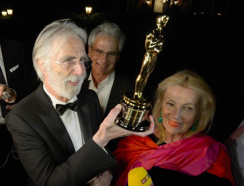 """Haneke erhielt  2013 einen Oscar und einen Golden Globe für den Spielfilm """"Liebe""""."""