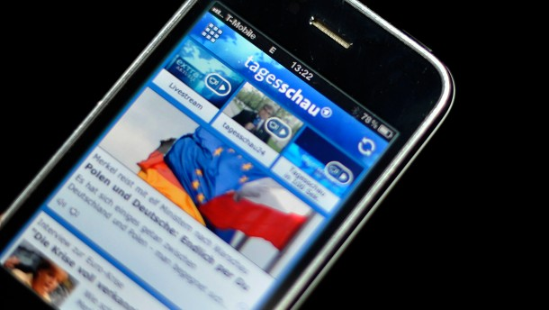 "Zeitungsverleger klagen gegen ""Tagesschau""-App"