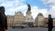 Im Zeichen der Marianne: Nach dem 13. November 2015 wurde die Place de la République in Paris zum Symbol der Erinnerung an die Opfer des Terrors.