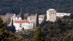 Berg Athos: Feuerwehr rettet uralte Kloster-Schätze