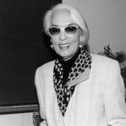 Belesene Exzentrikerin: Eva Hesse im Jahr 1993 bei der Überreichung der Ehrendoktorwürde in München.