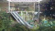 Malls ließen sich in einer neu gedachten Stadt leicht umnutzen.