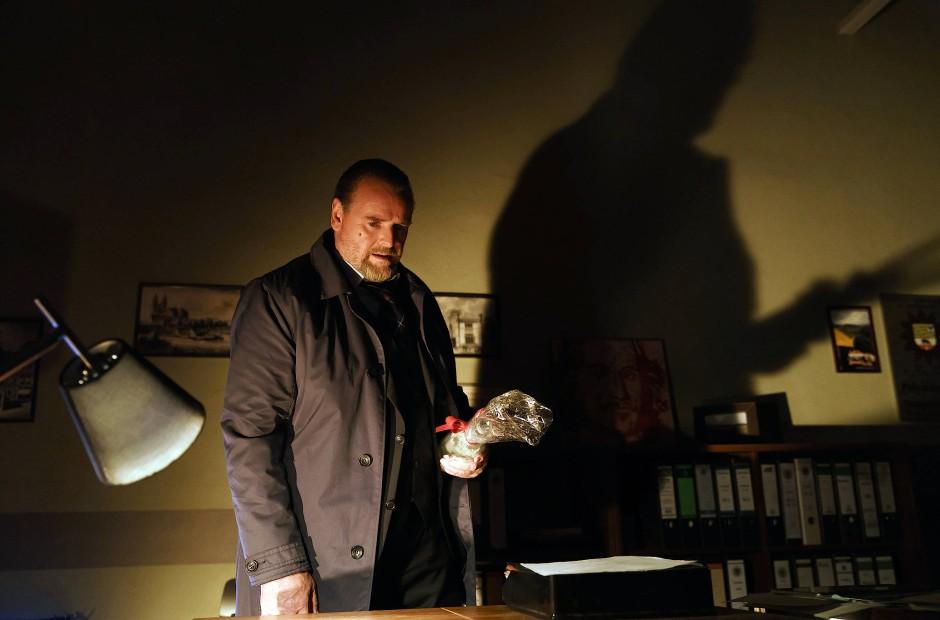 Überstresst: Kriminalrat Lemp (Felix Vörtler)