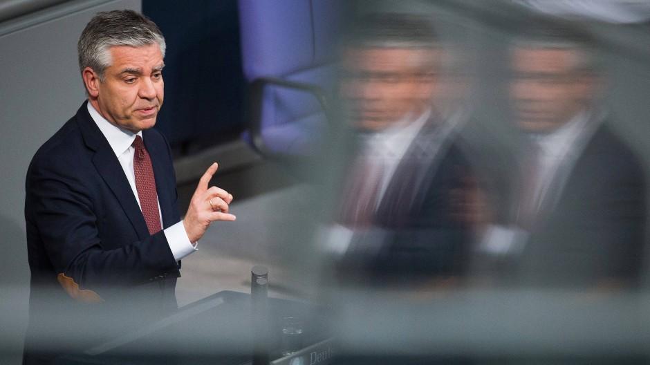 Mit seiner Klage vor dem Berliner Verwaltungsgericht gescheitert: der CDU-Bundestagsabgeordnete Frank Steffel