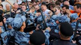 In Moskau herrscht Bürgerkrieg