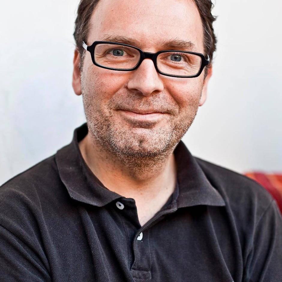 """Klaus Kowalke, dem Inhaber der Buchhandlung """"Lessing und Kompanie"""""""