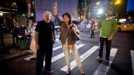 Symptom der französischen Elite: Der frühere Spitzenpolitiker Dominique Strauss-Kahn mit seiner Frau, der Starmoderatorin Anne Sinclair, in New York