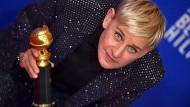 Ausgezeichnet: Anfang Januar hat Ellen DeGeneres bei den Golden Globes einen Sonderpreis erhalten.