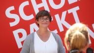 Saskia Esken und ihre Rolle als Projektionsfigur im Wahlkampf