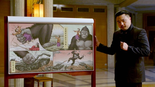 Ein Gorilla wird Kommunist