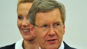 Bundespräsident Wulff klagt