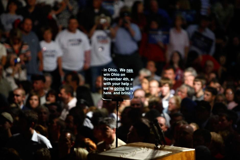 """In den """"Swing States"""" wie Ohio stehen die Wähler besonders unter Beobachtung - und die Nichtwähler sollten enttarnt werden."""
