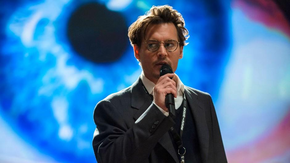 """Johnny Depp als Will Caster: """"Stellen Sie sich eine Maschine mit Emotionen vor. Ihre analytische Kraft wäre größer als die Intelligenz aller Menschen."""""""