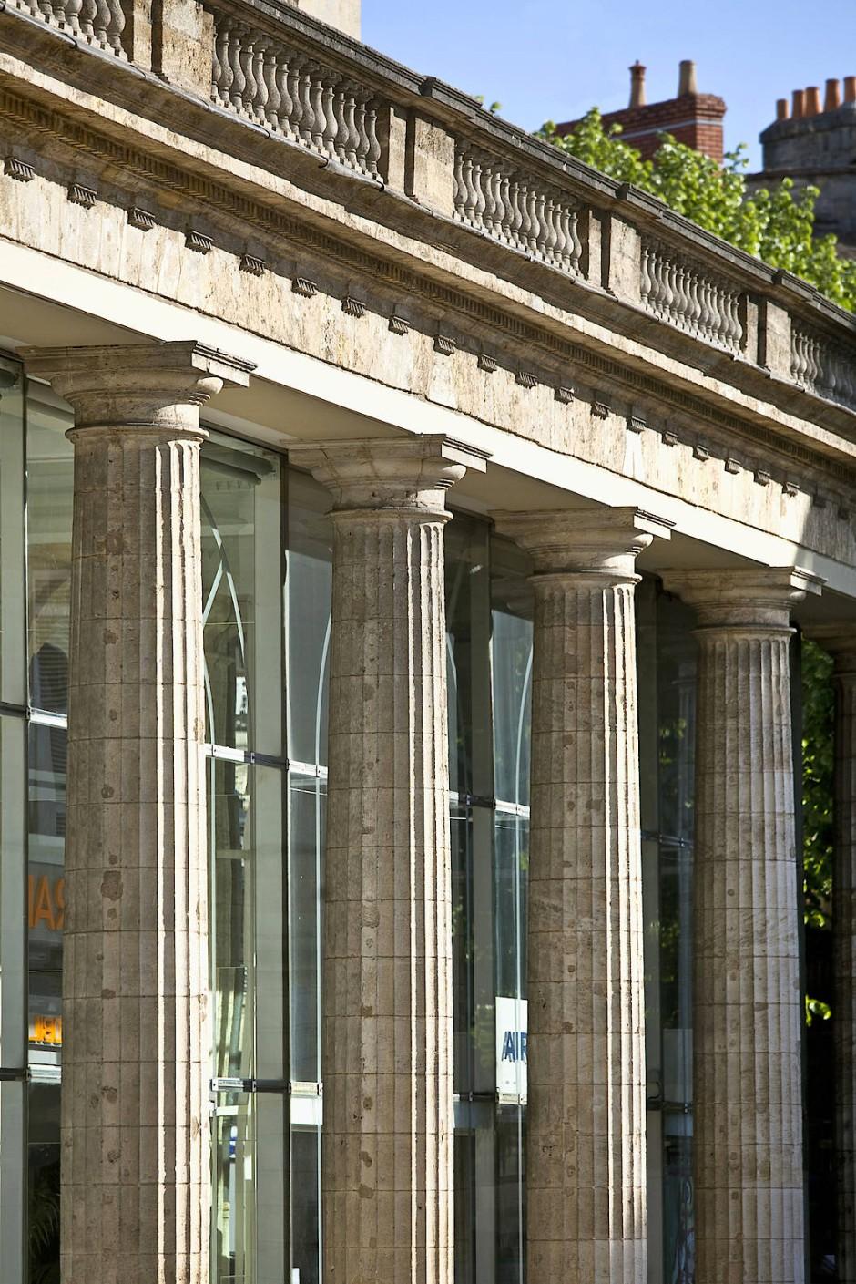 Im Meyer-Palais in Bordeaux trat Hölderlin seine letzte Stelle an.