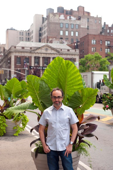 Gary Shteyngart in New York