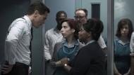 """Über die Liebe zu einem mysteriösen Fischwesen: Michael Shannon, Sally Hawkins und Octavia Spencer in """"The Shape of Water"""", nominiert für dreizehn Oscars."""