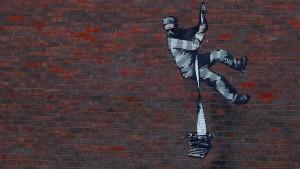Knast-Graffito von Banksy