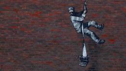 Knast-Graffiti von Banksy