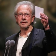 Literaturnobelpreisträger: Peter Handke.