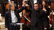 """Landung der """"Arche"""" geglückt: Kent Nagano und Jörg Widmann"""