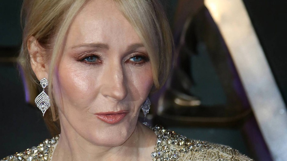 "J.K. Rowling im November 2016 bei der Premiere von ""Fantastic Beasts And Where To Find Them"" in London"