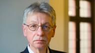 In der DDR durfte er nicht publizieren, 2010 erhielt er den Büchner-Preis: Reinhard Jirgl im Oktober 2013 in Frankfurt.
