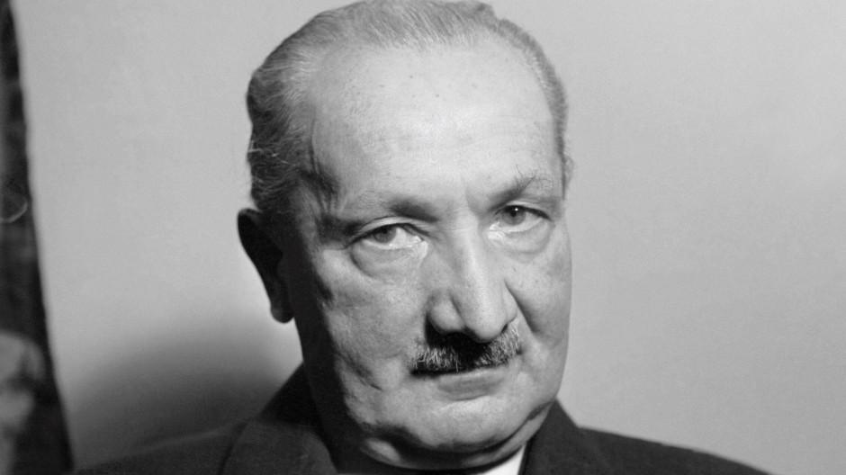 Umstrittenes Erbe: Martin Heidegger.