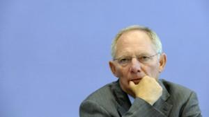 Schäuble: Es empfiehlt sich, Texte zu lesen