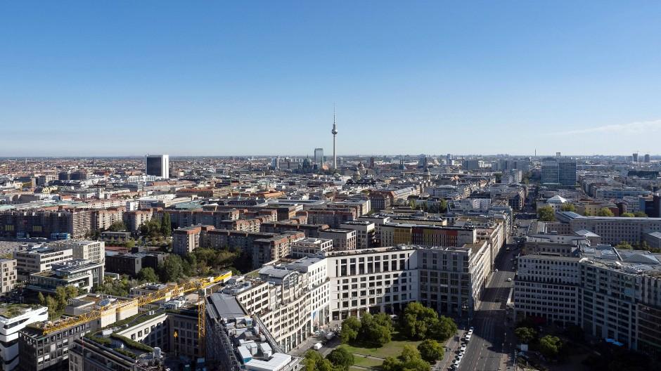 Ein Blick über Berlin