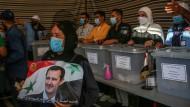 Assad und kein Ende: Wahl in Syrien