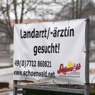 Schild am Ortseingang von Schönwald