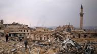 Aleppo im Dezember 2016