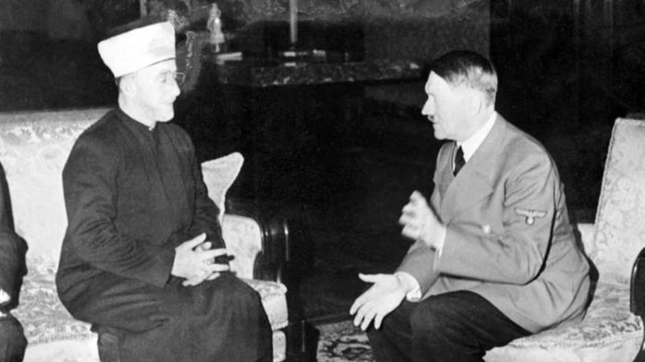 Propaganda aus Berlin: Der Großmufti Amin el-Husseini im Gespräch mit Hitler.