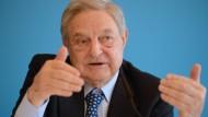 """""""Wenn ich die deutsche Öffentlichkeit wachrütteln könnte, dann wäre das der krönende Abschluss meines Lebenswerks"""": George Soros"""