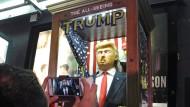 Trump-Wahrsageautomat, aufgestellt in New York