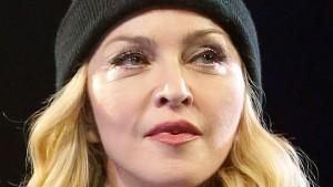 Madonna in falscher Gesellschaft