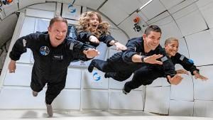 SpaceX macht seine erste Privatreise ins All