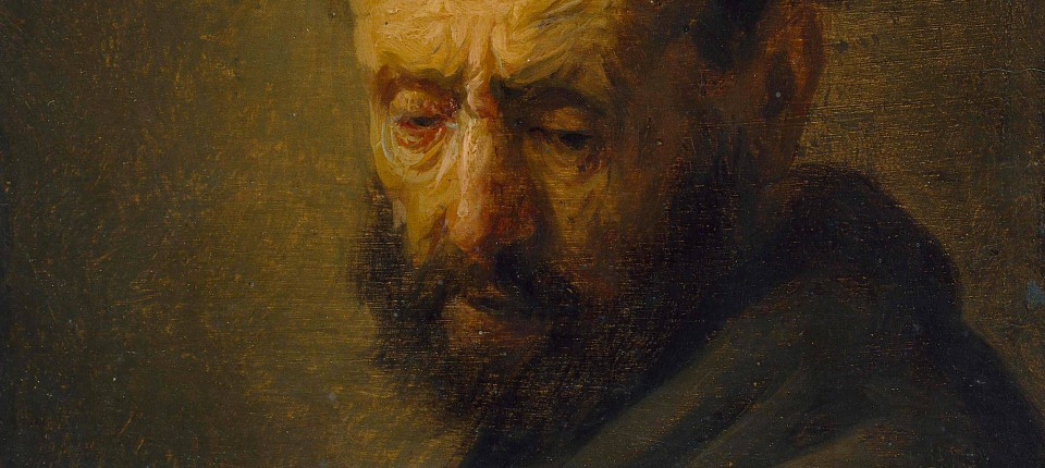 """Forscher haben gerade herausgefunden, dass dieser """"Kopf eines bärtigen Mannes"""" zumindest aus Rembrandts Werkstatt stammt. Das steigert den Wert des Gemäldes natürlich gewaltig."""