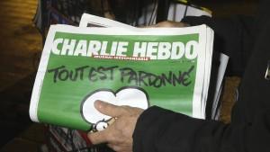 """""""Charlie Hebdo"""" kommt nach Deutschland"""