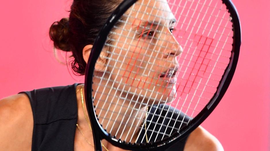 Die Autorin und Tennisspielerin Andrea Petković.