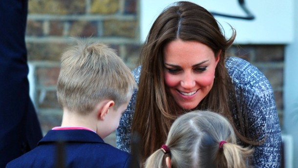 Kate Middleton Hope House visit