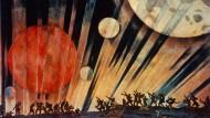 """""""Der neue Planet"""", 1921, von Konstantin F. Juon"""